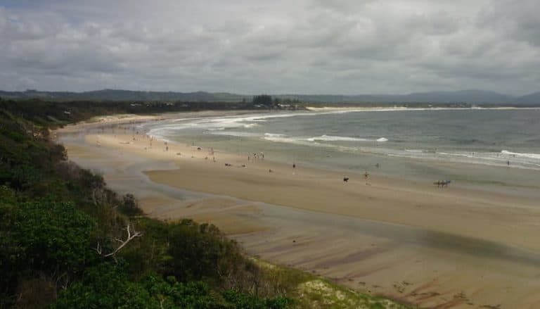 best beaches byron bay clarkes beach