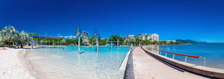 cairns esplanade lagoon- cheap things to do in cairns