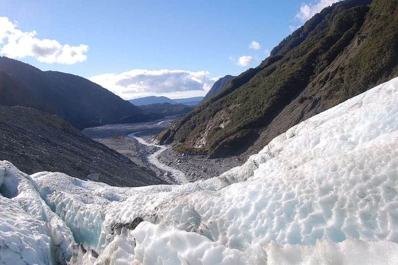 franz josef glacier new zealand summer destinations