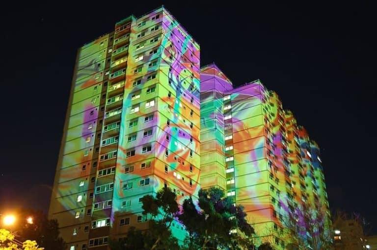 Melbourne light festival