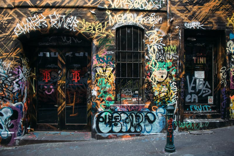 hosier lane graffiti melbourne