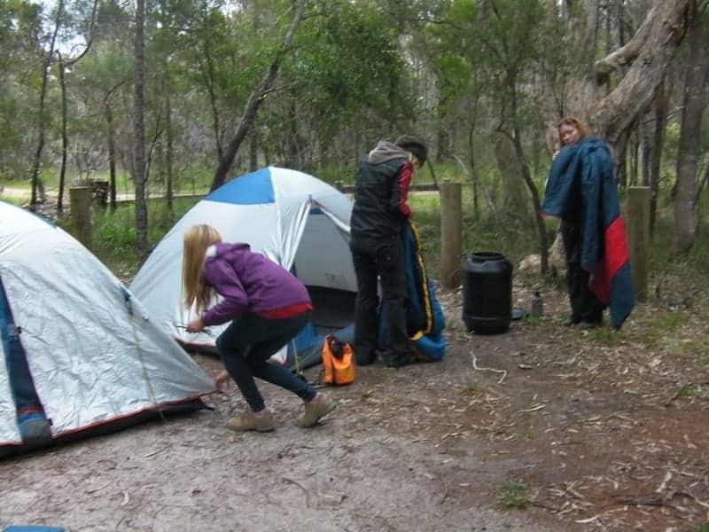 noosa everglades camping 3 days 2 nights