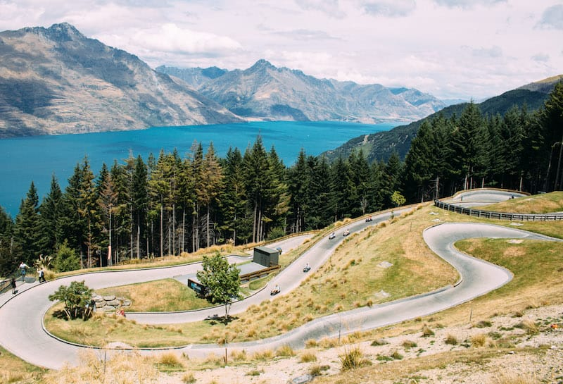 things to do in queenstown luge