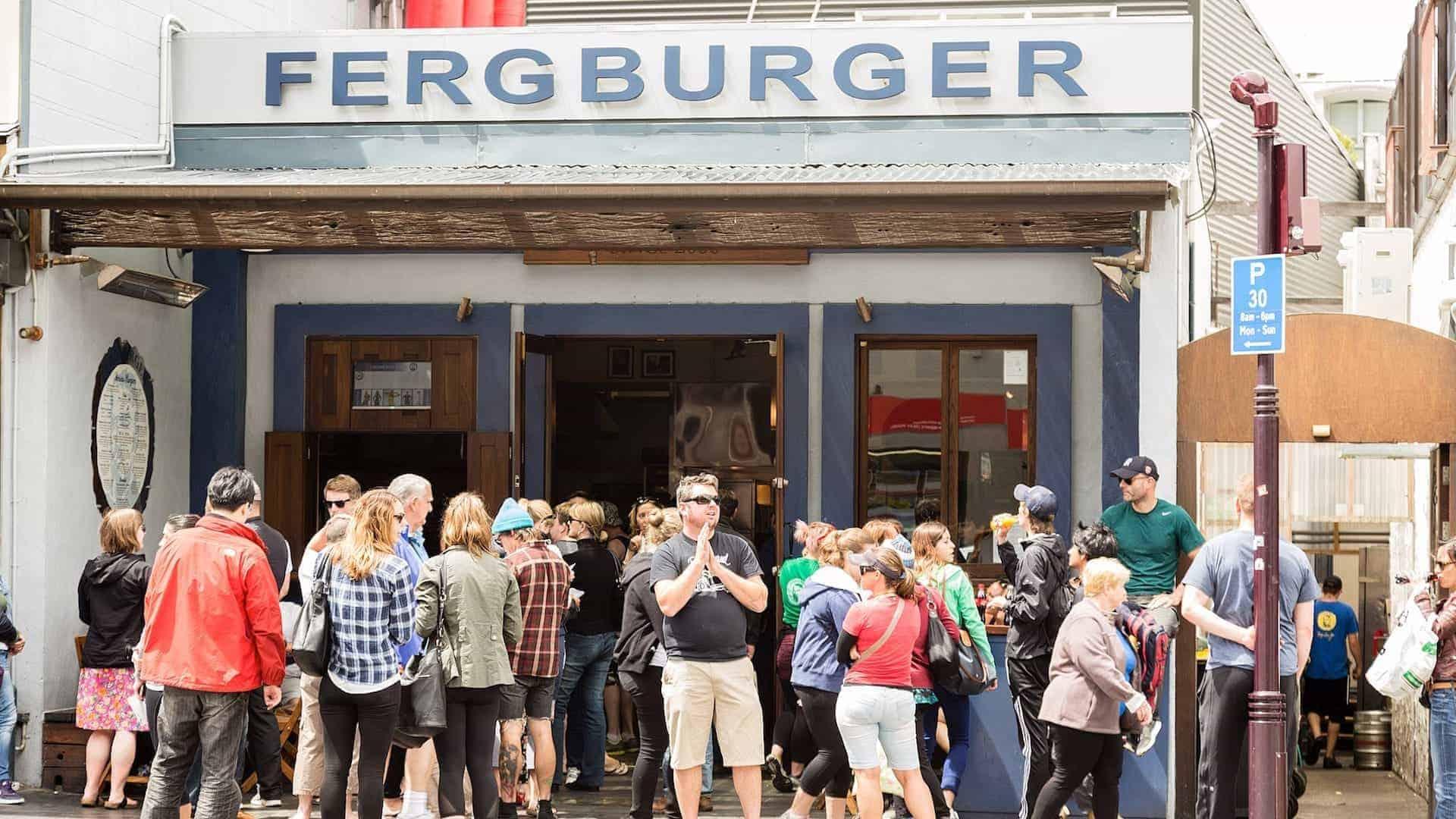 fergburger cheap eats queenstown