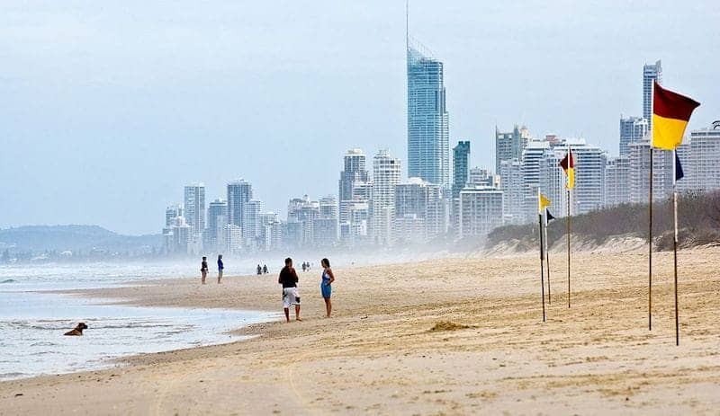 beach gold coast queensland