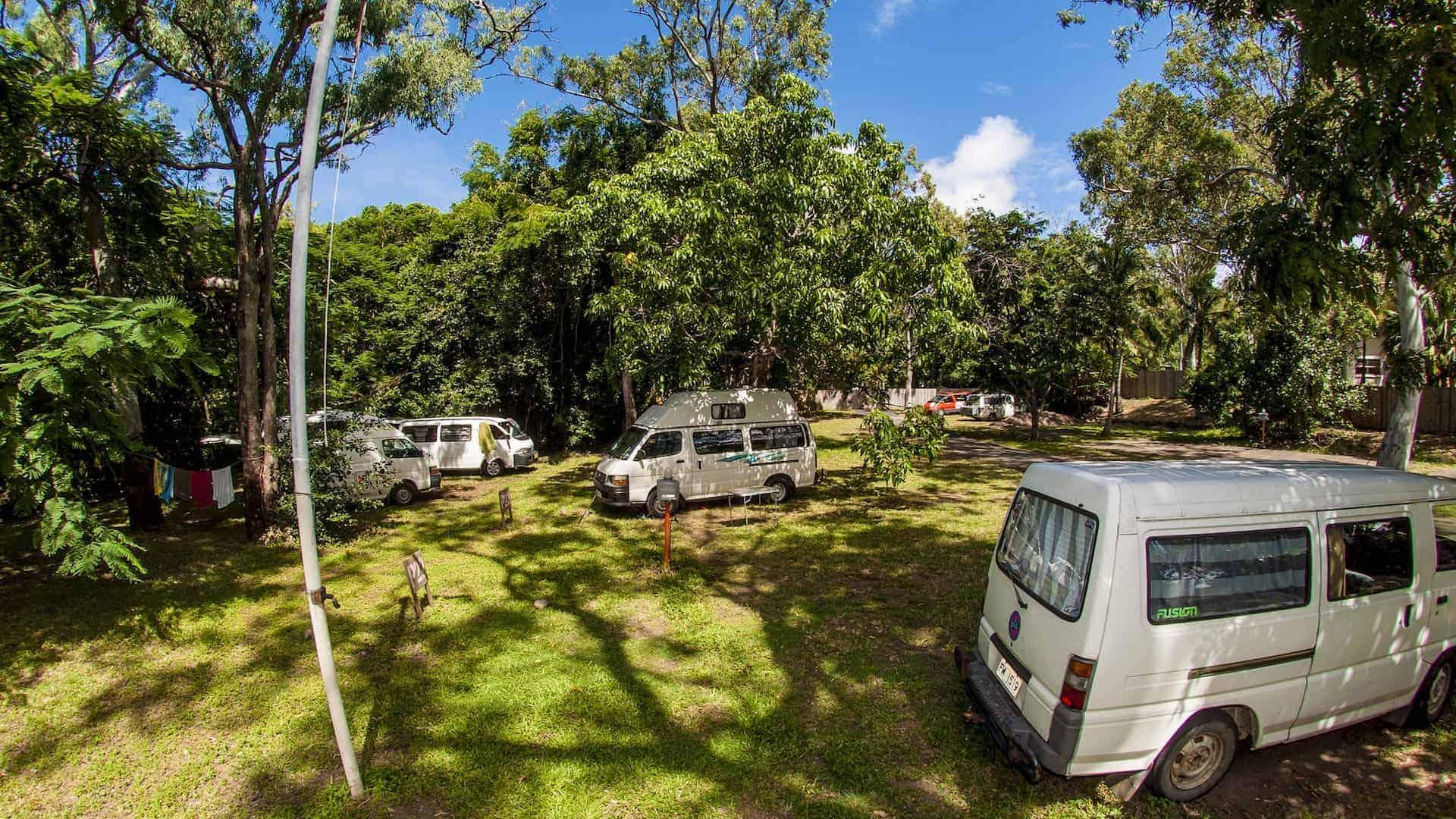 campervan parking airlie beach