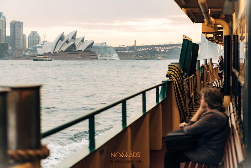 sydney ferry to manly beach