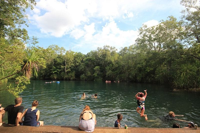 berry springs nature park darwin things to do for free