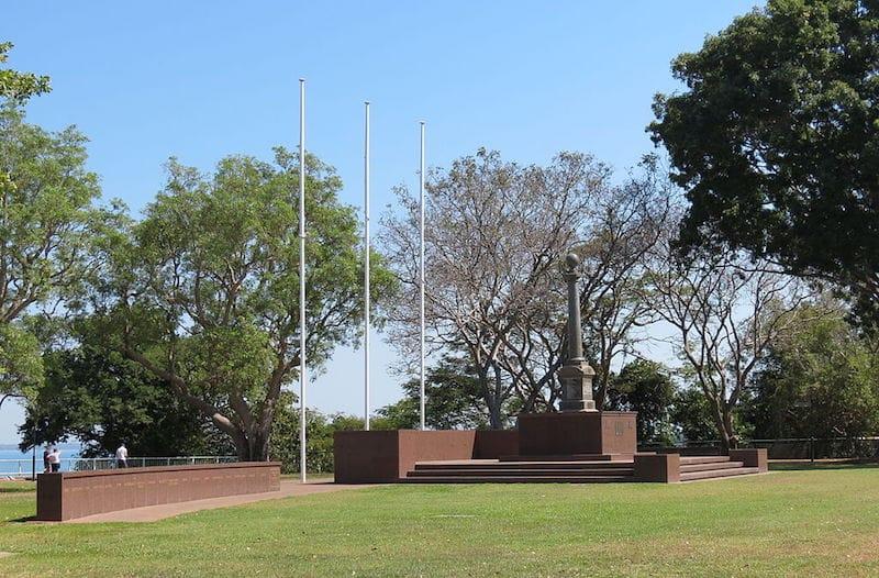 dawrin war memorial bicentennial park