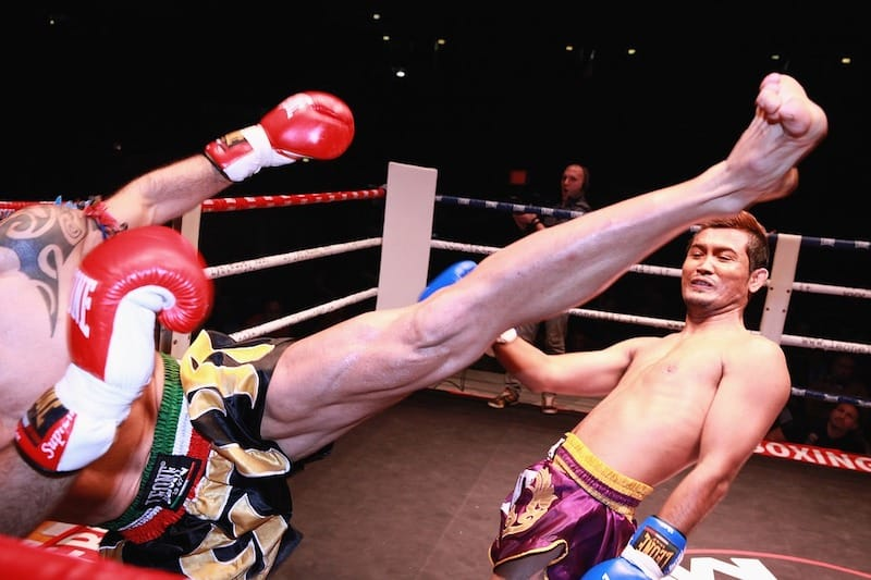 muay thai bangkok nightlife