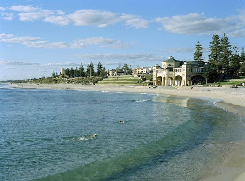 cottesloe beach - unforgettable places in australia