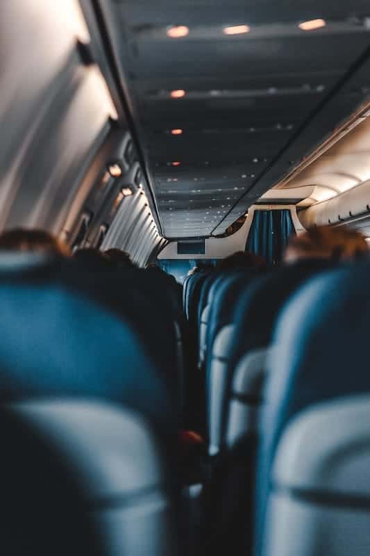 how to have more comfortable flights