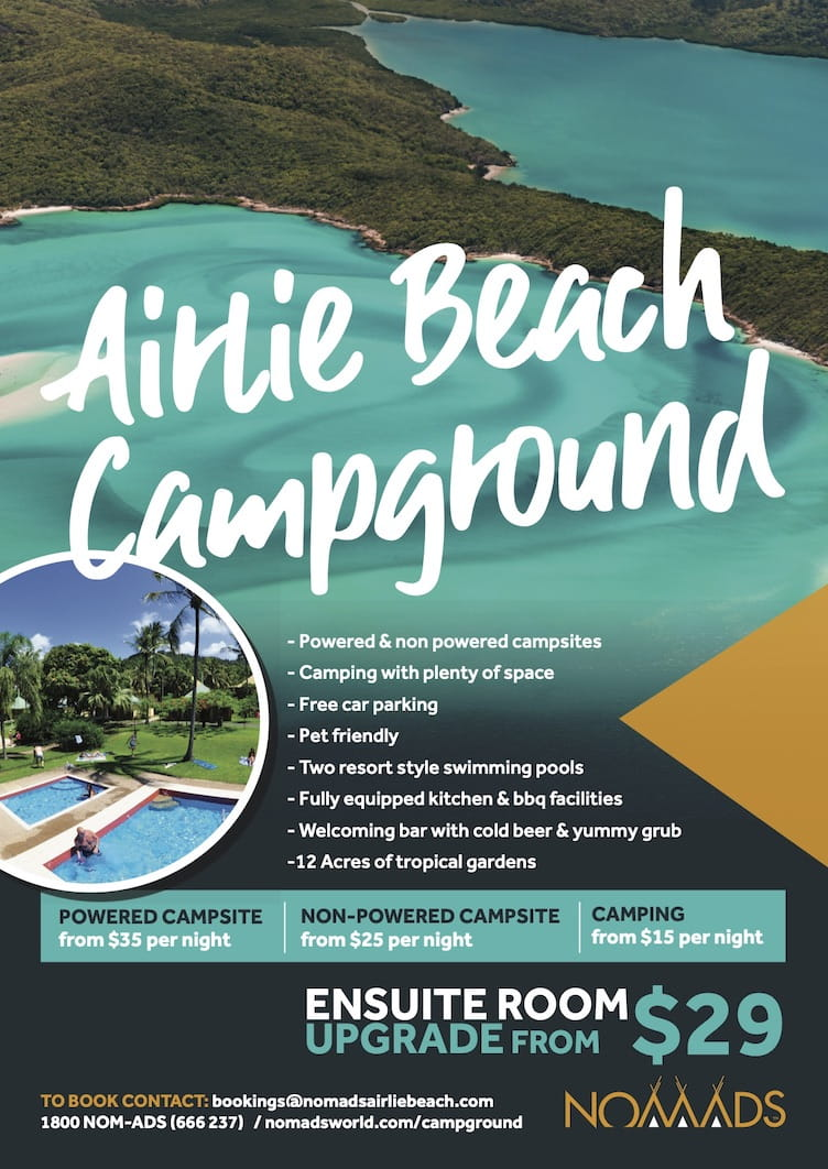 airlie beach camping