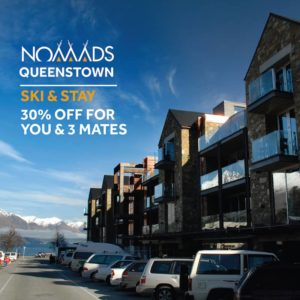 nomads queenstown accommodation deal