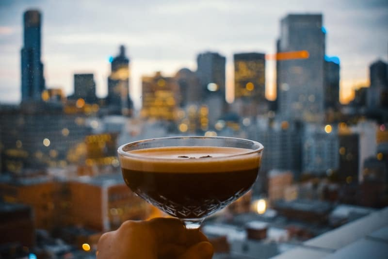 things to do in melbourne at night - rooftop bar sunsets