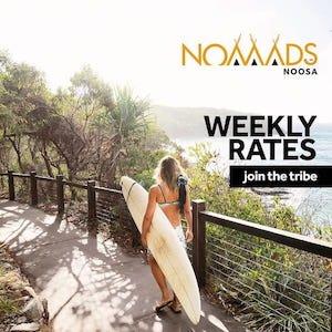 nomads noosa hostel weekly rates