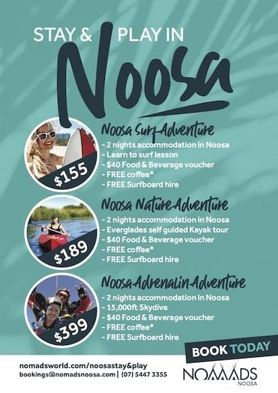 noosa stay and play