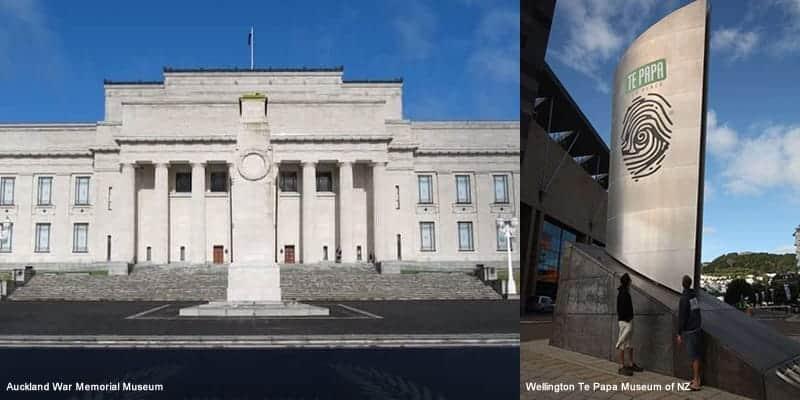 auckland museum vs wellington museum