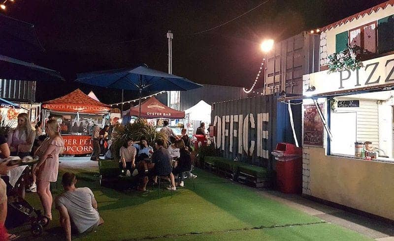 things to do in brisbane at night eat street markets brisbane