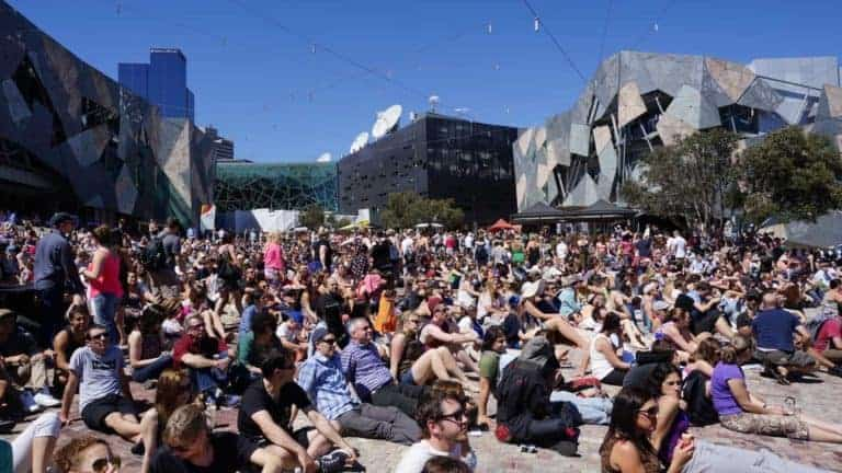 free things to do in melbourne - federation square melbourne