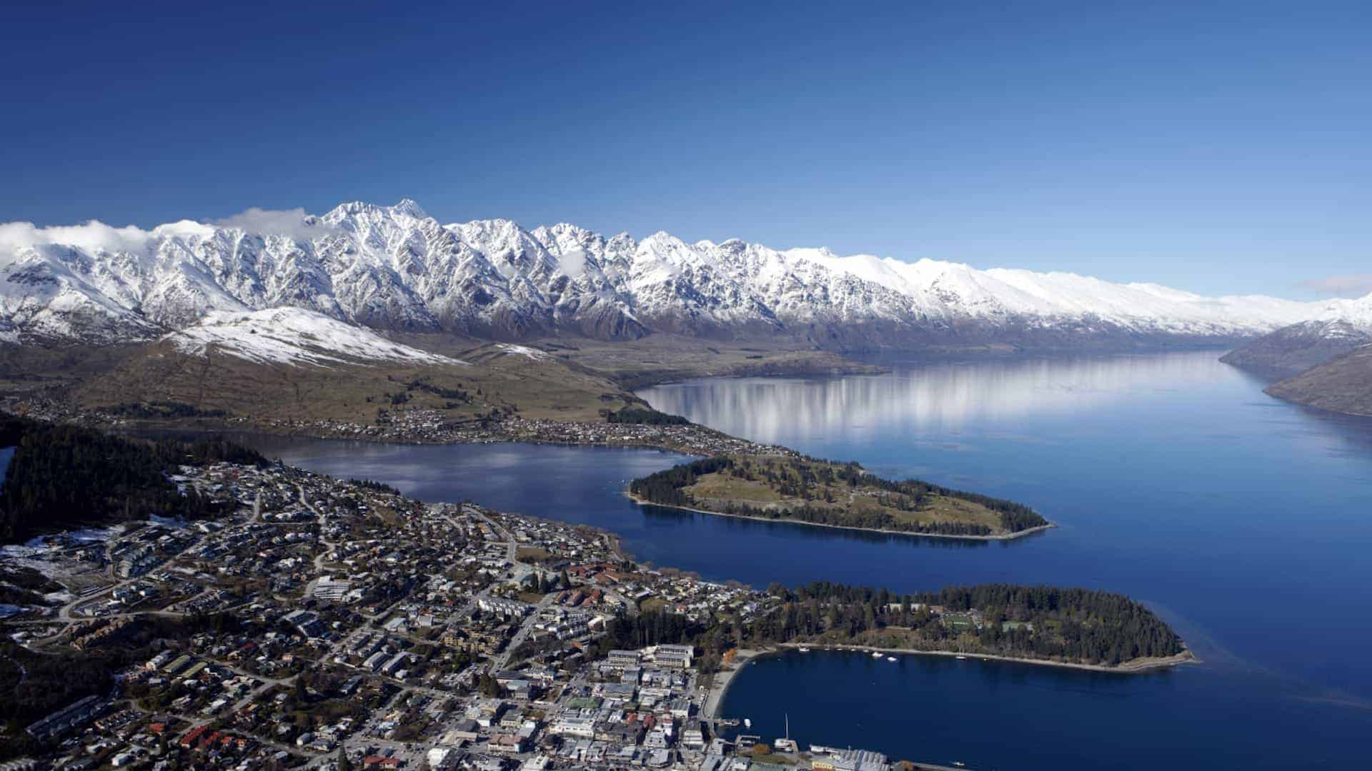 View of Queenstown TNZ free or cheap things to do in queenstown