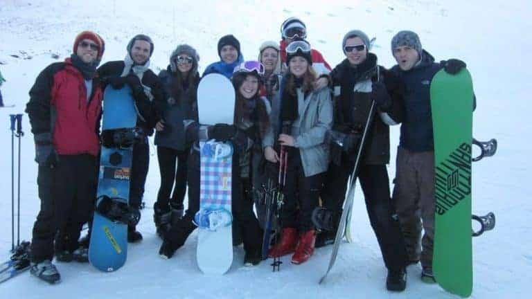 work in queenstown snowboarding