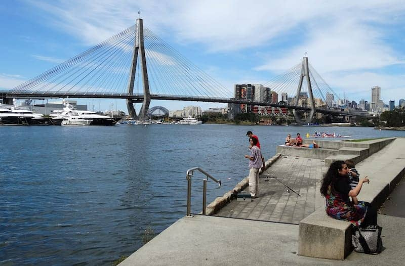 blackwattle bay park with bbq