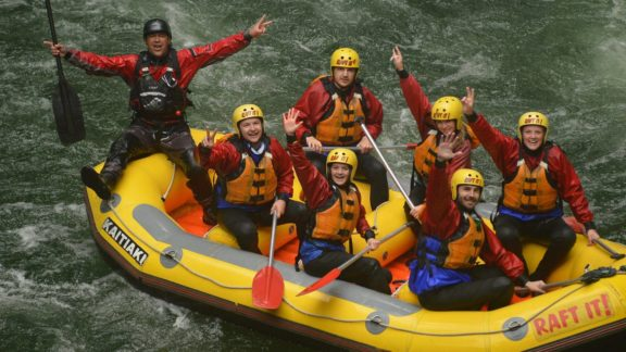 kaitiaki adventures whitewater rafting