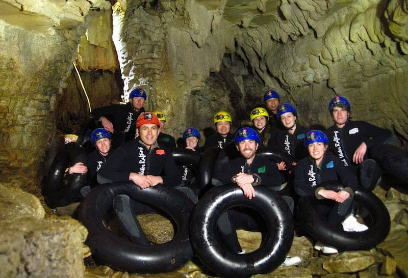 waitomo adventures blackwater rafting