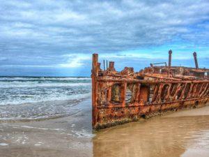 maheno ship wreck fraser island