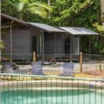 swimming pool at cape tribulation accommodation