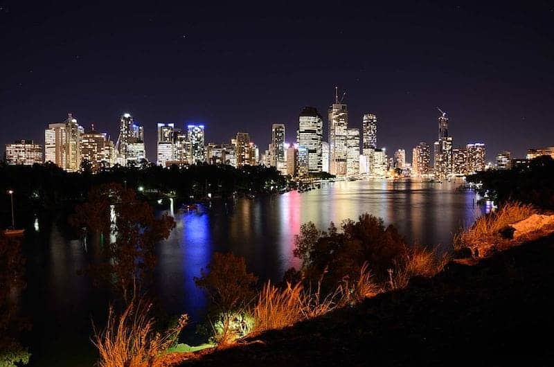 free things to do in brisbane at night