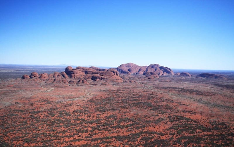 the olgas red centre